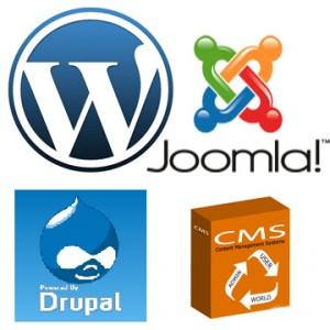 joomla drupal wordpress cms